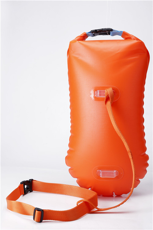 Ultralight PVC Swim Buoy And Safety Float for Open Water