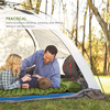 Durable Inflatable Camping Mat with Pillow